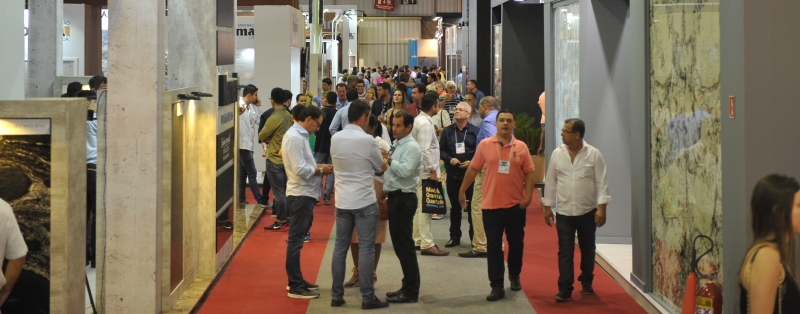 The fair registered a great number of visitors impressed with the various possibilities of the use of natural stones