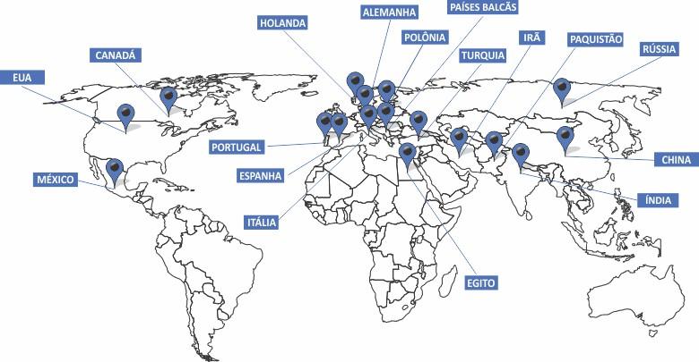 Delegados Internacionais