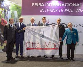 Bento oficializa presença na associação Città del Vino